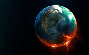 15216_3d_scene_burning_earth