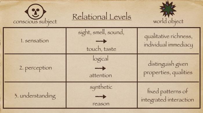 relational levels